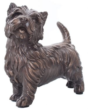 West Highland Terrier Cold Cast Bronze-0
