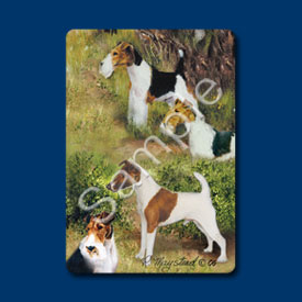 Fox Terrier - Deck of Playing Cards-0