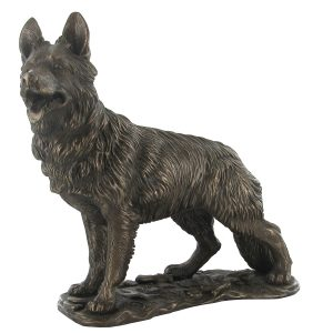 German Shepherd - Cold Cast Bronze-0