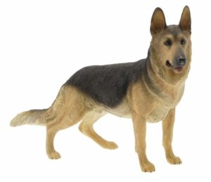 German Shepherd Dog Figurine -0