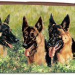 German Shepherd Zippered Pouch-0