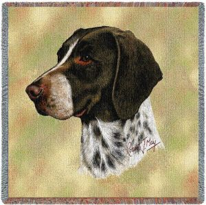 German Shorthaired Pointer Tapestry Throw-0