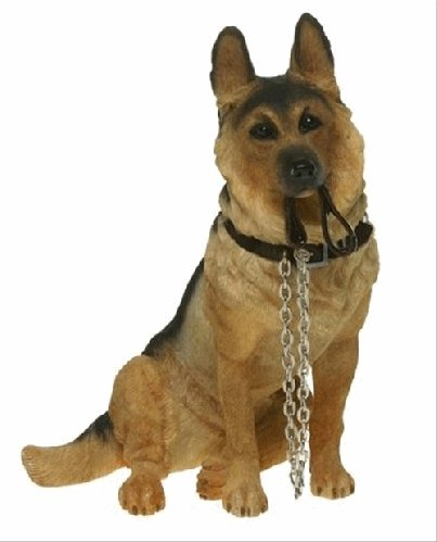 German Shepherd Sitting figurine-0