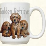 Golden Retriever Puppies Mug-0