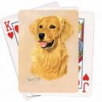 Golden Retriever – Deck of Playing Cards-0