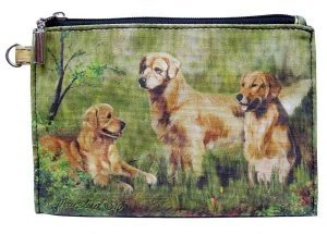 Golden Retriever - Zippered Pouch-0