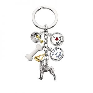 Great Dane - Charm Key Chain-0