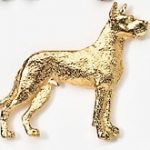 Great Dane pin Brooch-0