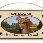 Greyhound- Welcome Hanging Sign-0