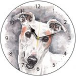 White Greyhound - Clock-0
