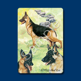 German Shepherd - Deck of Playing Cards-0