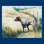 German Short haired Pointer- List Pad & Magnet Combo-0
