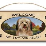 Havanese- Welcome Hanging Sign-0