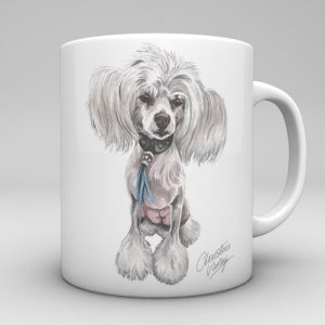 Chinese Crested Dog Mug-0