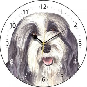 Bearded Collie - Clock-0