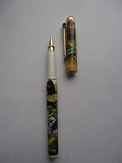 English- Irish- Gordon Setters Deluxe Ink Pen.-0
