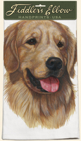 Golden Retriever – 100% Cotton Kitchen Towel-0