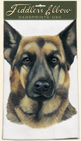 German Shepherd - 100% Cotton Kitchen Towel-0