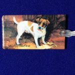 Jack Russell Luggage Bag Tag-0