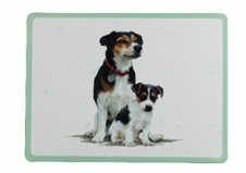 Jack Russell Placemat Set-0