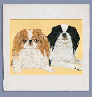 Japanese Chin Kitchen Tea Towel--0