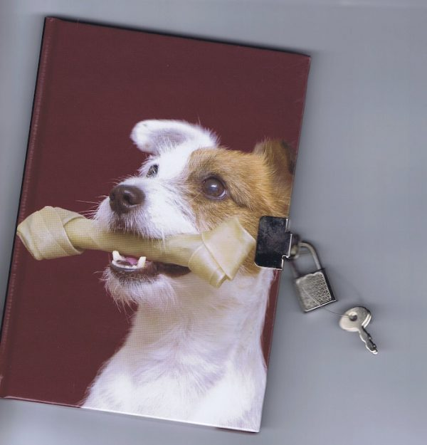 Jack Russell – Lockable Diary-0