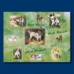 Jack Russel – Gift Wrap paper-0