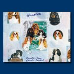 Cavalier King Charles Spaniel - Gift Wrap paper-0