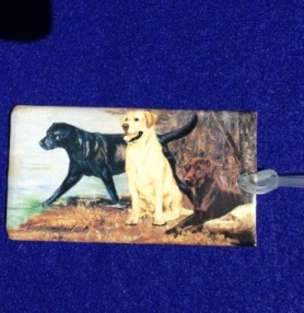 Labrador Luggage Bag Tag-0