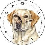 Yellow Labrador  – Clock-0
