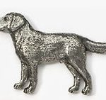 Labrador pin brooch-0
