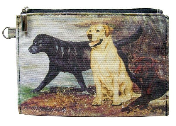 Labradors – Zippered Pouch-0