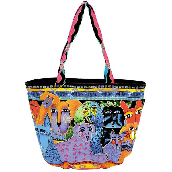 Canine Clan – Large Boat Tote-0
