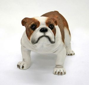 Bulldog Dog Figurine-0
