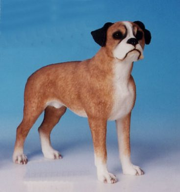 Boxer Dog Figurine -0