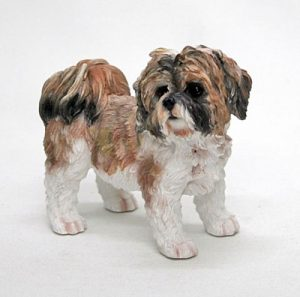 Shih Tzu (Brown) Figurine -0