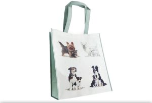 Border Collie Shopping Bag-0