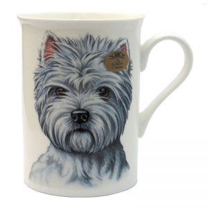 West Highland Terrier - Fine China Mug-0