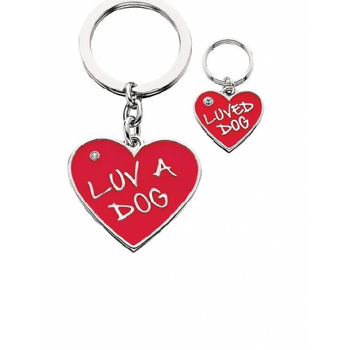 Luv A Dog Keychain & Charm Set-0