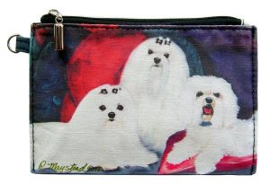 Maltese - Zippered Pouch-0