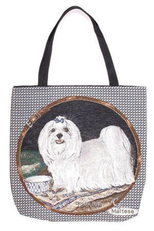 Maltese Tapestry Tote bag-0