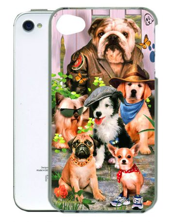 Cool Dudes iPhone Case 4.-0