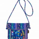 Laurel Burch 'Mythical Dogs' Cross body Bag-0