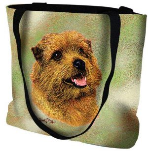 Norfolk Terrier Tote Bag-0