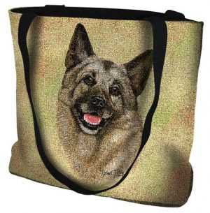 Elkhound Tote Bag-0