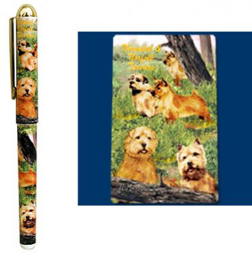 Norwich & Norfolk Terrier Deluxe Ink Pen-0