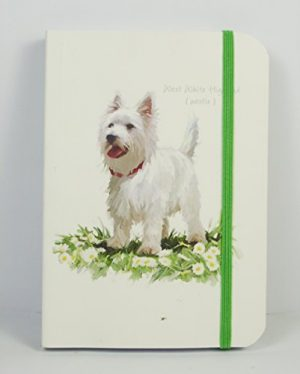 Note Book-West Highland Terrier-0