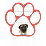 Pug Magnetic Note Pad-0
