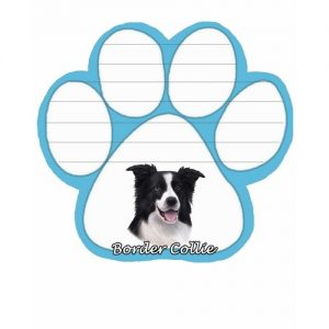 Border Collie Magnetic Note Pad-0
