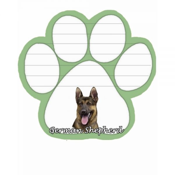 German Shepherd Magnetic Note Pad-0